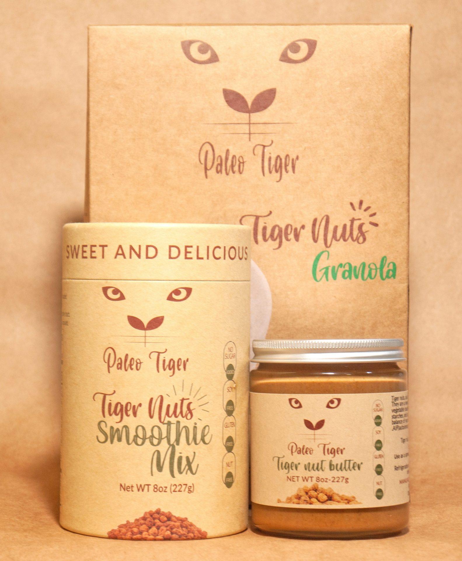 Tiger nuts paste, Granola, Smoothie mix
